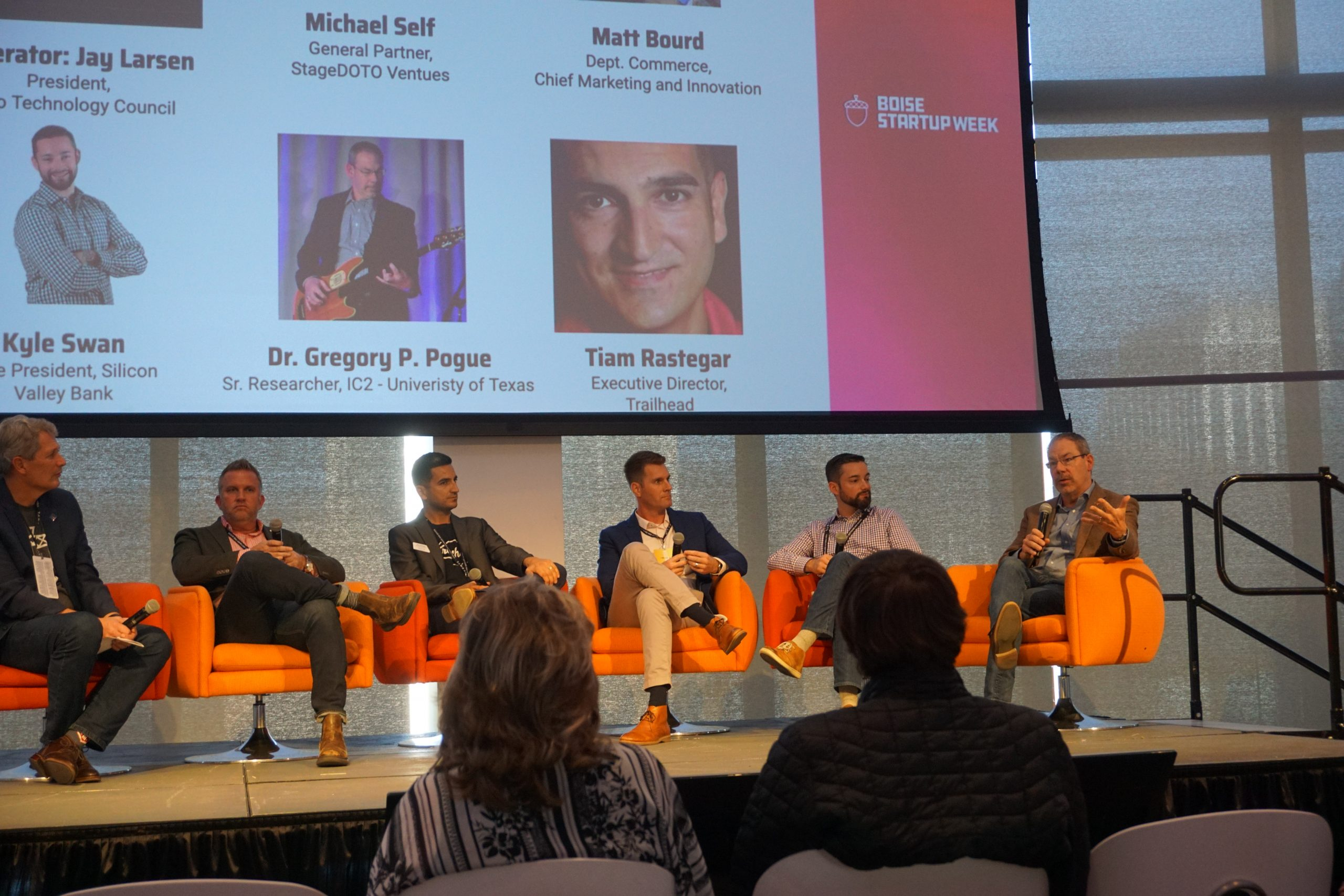 Panelists at Boise Startup Week