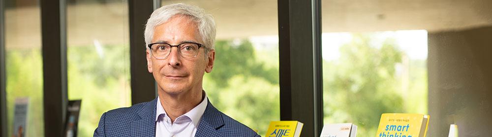 Portrait of Art Markman, director of IC² institute