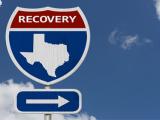 Texas road sign