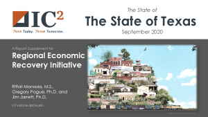 The State of the State of Texas report