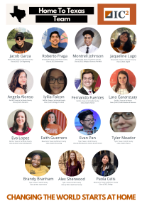 Faces of Home to Texas participants from summer 2020