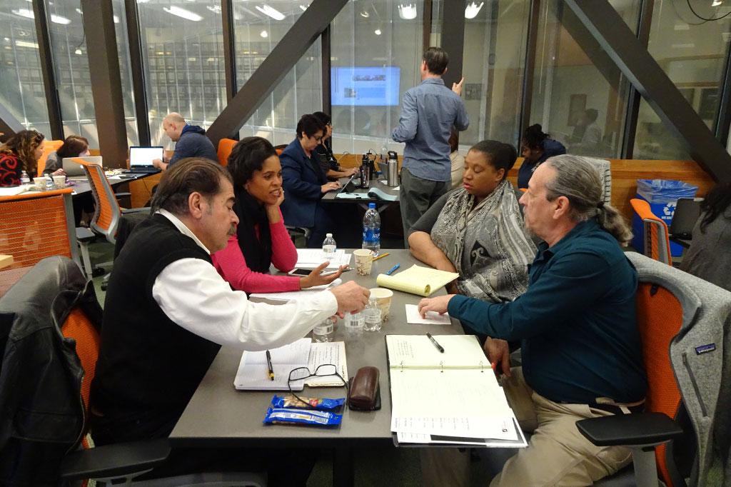 Alamo Colleges training at the IC² Institute