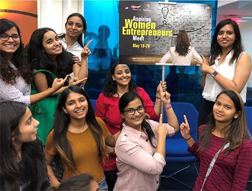 Aspiring Women Entrepreneurs at Nexus