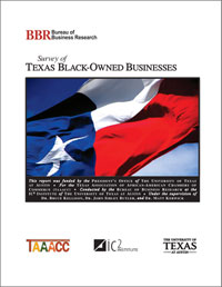 cover: Report on Texas Black-owned Businesses