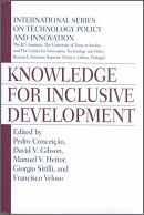 Knowledge for Inclusive Development book cover