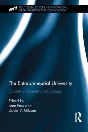Book cover: The Entrepreneurial University