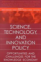 Book cover: Science, Technology, and Innovation Policy