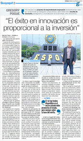 Expreso.ec: Pogue interview