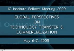 IC2 Institute Fellows Meeting 2009 video still