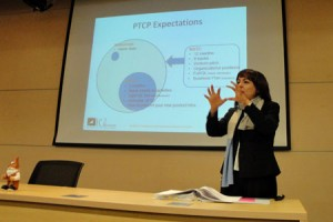Elsie Echeverri-Carroll at PTCP