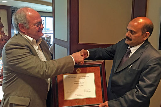 Nirankar Saxena named IC² Fellow