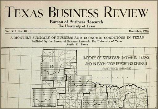Texas Business Review, December 1945