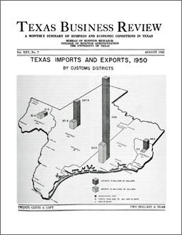 Texas Business Review, August 1951