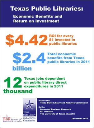 Texas Public Libraries ROI Study